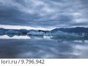 Купить «Glacier in Iceland, ice», фото № 9796942, снято 22 марта 2019 г. (c) PantherMedia / Фотобанк Лори