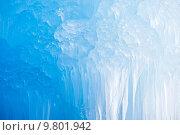Купить «Deep Blue Icicles», фото № 9801942, снято 22 марта 2019 г. (c) PantherMedia / Фотобанк Лори