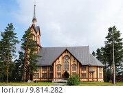 Купить «church finnish finland holzkirche lapinlahti», фото № 9814282, снято 18 марта 2019 г. (c) PantherMedia / Фотобанк Лори