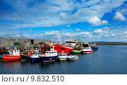 Купить «Rossaveel harbour», фото № 9832510, снято 7 декабря 2019 г. (c) PantherMedia / Фотобанк Лори
