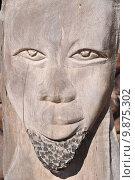 Купить «face wood mask beard namibia», фото № 9875302, снято 27 июня 2019 г. (c) PantherMedia / Фотобанк Лори
