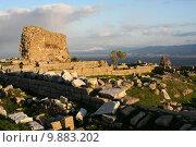 Купить «Руины античного города Пергам. Турция», фото № 9883202, снято 17 августа 2018 г. (c) Уфимцева Екатерина / Фотобанк Лори