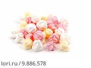 Купить «Isolated meringues», фото № 9886578, снято 19 марта 2019 г. (c) PantherMedia / Фотобанк Лори