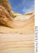 Купить «gorgeous colourful desert formation geology», фото № 9915570, снято 20 июня 2019 г. (c) PantherMedia / Фотобанк Лори