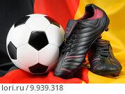 Купить «black sport ball flag sports», фото № 9939318, снято 20 марта 2019 г. (c) PantherMedia / Фотобанк Лори