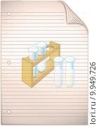 Купить «Single sheet of old grungy lined note paper background texture », фото № 9949726, снято 22 июля 2019 г. (c) PantherMedia / Фотобанк Лори