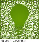 Купить «Eco green world ideas background», иллюстрация № 10025654 (c) PantherMedia / Фотобанк Лори