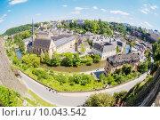 Купить «Luxembourg panoramic view», фото № 10043542, снято 18 ноября 2017 г. (c) PantherMedia / Фотобанк Лори