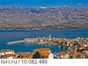 Купить «Town of Vinjerac and Velebit mountain», фото № 10082486, снято 18 февраля 2019 г. (c) PantherMedia / Фотобанк Лори