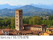 Купить «Lucca, Tuscany - View over Old Town», фото № 10179878, снято 15 декабря 2017 г. (c) PantherMedia / Фотобанк Лори