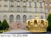 Купить «Stockholm Royal Palace (Kungliga slottet) in old town (Gamla stan)», фото № 10253994, снято 17 июня 2019 г. (c) PantherMedia / Фотобанк Лори