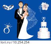 Купить «Wedding Icons», фото № 10254254, снято 21 июля 2018 г. (c) PantherMedia / Фотобанк Лори