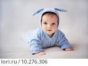 Купить «little bunny newborn baby», фото № 10276306, снято 23 февраля 2018 г. (c) PantherMedia / Фотобанк Лори