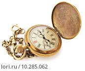 Купить «vintage pocket clock», фото № 10285062, снято 19 августа 2018 г. (c) PantherMedia / Фотобанк Лори