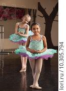 Купить «Cute Ballerinas Rehearsing», фото № 10305794, снято 10 июля 2020 г. (c) PantherMedia / Фотобанк Лори