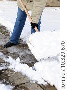Купить «caucasian european winter blank snow», фото № 10329670, снято 26 марта 2019 г. (c) PantherMedia / Фотобанк Лори