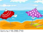 Купить «Beach Cartoon», иллюстрация № 10390710 (c) PantherMedia / Фотобанк Лори