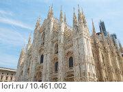 Купить «Duomo, Milan», фото № 10461002, снято 24 июня 2019 г. (c) PantherMedia / Фотобанк Лори