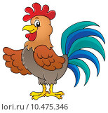 Купить «Image with rooster theme 1», иллюстрация № 10475346 (c) PantherMedia / Фотобанк Лори