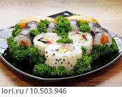 Купить «Japan Sushi», фото № 10503946, снято 20 января 2020 г. (c) PantherMedia / Фотобанк Лори