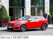 Купить «Mercedes-Benz X156 GLA-class», фото № 10507006, снято 23 июля 2014 г. (c) Art Konovalov / Фотобанк Лори