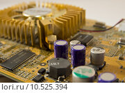 Купить «circuit resistors capacitor graphics card», фото № 10525394, снято 19 февраля 2019 г. (c) PantherMedia / Фотобанк Лори