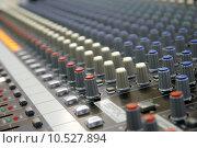 Купить «Sound mixer», фото № 10527894, снято 16 февраля 2019 г. (c) PantherMedia / Фотобанк Лори