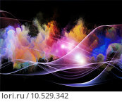Купить «Lights of Fractal Turbulence», фото № 10529342, снято 17 июля 2019 г. (c) PantherMedia / Фотобанк Лори