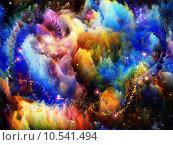 Купить «Inner Life of Fractal Turbulence», иллюстрация № 10541494 (c) PantherMedia / Фотобанк Лори