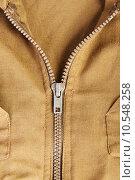 Купить «Close up on old zip», фото № 10548258, снято 26 марта 2019 г. (c) PantherMedia / Фотобанк Лори