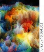 Купить «Colorful Fractal Turbulence», фото № 10564362, снято 17 июля 2019 г. (c) PantherMedia / Фотобанк Лори