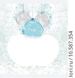 Купить «Christmas Framework style card», иллюстрация № 10587354 (c) PantherMedia / Фотобанк Лори