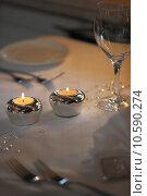 plant flower glass glasses candle. Стоковое фото, фотограф Birgit Korber / PantherMedia / Фотобанк Лори