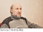Портрет пожилого мужчины. Стоковое фото, фотограф Галина  Горбунова / Фотобанк Лори