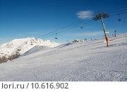 Купить «Ski resort», фото № 10616902, снято 16 июля 2019 г. (c) PantherMedia / Фотобанк Лори
