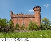 Купить «Medieval Castle Turin», фото № 10661102, снято 24 июня 2019 г. (c) PantherMedia / Фотобанк Лори