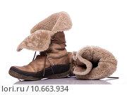 Купить «Winter shoes», фото № 10663934, снято 15 марта 2018 г. (c) PantherMedia / Фотобанк Лори