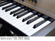 Купить «keys of a music keyboard or piano», фото № 10707082, снято 15 июня 2019 г. (c) PantherMedia / Фотобанк Лори