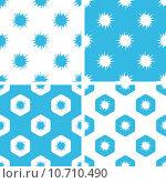 Burst patterns set. Стоковая иллюстрация, иллюстратор Иван Рябоконь / Фотобанк Лори