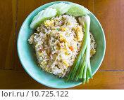 Купить «Thai food fried rice », фото № 10725122, снято 22 июля 2019 г. (c) PantherMedia / Фотобанк Лори
