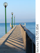 Купить «The wooden platform in Dardanelles. The view from Asia on Europe», фото № 10731854, снято 25 мая 2019 г. (c) PantherMedia / Фотобанк Лори