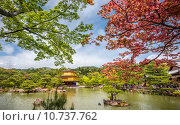 Купить «Kinkakuji Temple (The Golden Pavilion) in Kyoto, Japan », фото № 10737762, снято 17 октября 2019 г. (c) PantherMedia / Фотобанк Лори