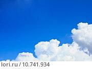 Купить «blue sky», фото № 10741934, снято 17 ноября 2018 г. (c) PantherMedia / Фотобанк Лори