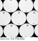 Купить «Fuel drums», фото № 10759682, снято 22 июня 2018 г. (c) PantherMedia / Фотобанк Лори