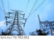 Купить «Electrical tower», фото № 10783002, снято 24 июня 2019 г. (c) PantherMedia / Фотобанк Лори