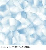 Купить «Abstract white blue facet background», иллюстрация № 10784086 (c) PantherMedia / Фотобанк Лори