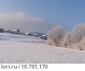 Купить «Malbuisson at dawn in winter, Jura, France», фото № 10791170, снято 22 июля 2019 г. (c) PantherMedia / Фотобанк Лори