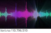 audio spectrum glow flare. Стоковое фото, фотограф Shing Lok Che / PantherMedia / Фотобанк Лори