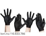 Купить «black hands», фото № 10833786, снято 20 марта 2019 г. (c) PantherMedia / Фотобанк Лори