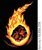 Купить «Blazing Comet», иллюстрация № 10856378 (c) PantherMedia / Фотобанк Лори